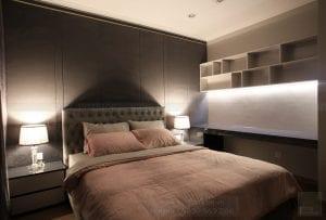 thi công nội thất căn hộ hiện đại - phòng ngủ 4