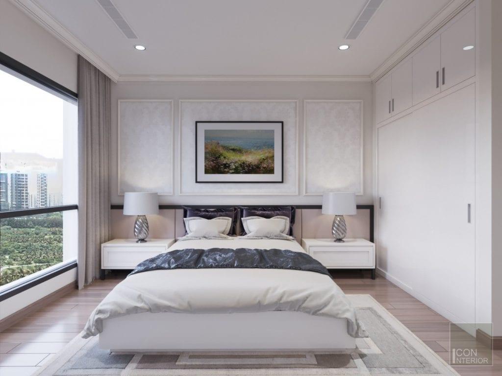 phòng ngủ master căn hộ