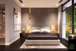 thiết kế nội thất phòng ngủ vinhomes central park