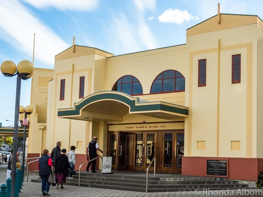 Tòa nhà Art Decor Style tại đường Napier, New Zealand