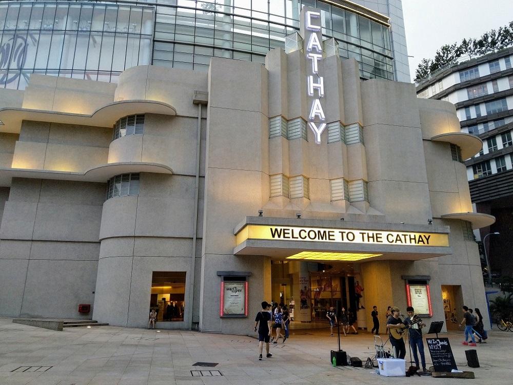 Tòa nhà Cathay tại Singapre