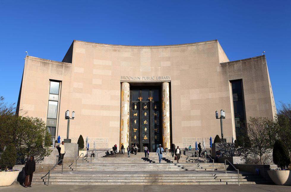 Bảo tàng Brooklyn được biết đến với kiến trúc art deco