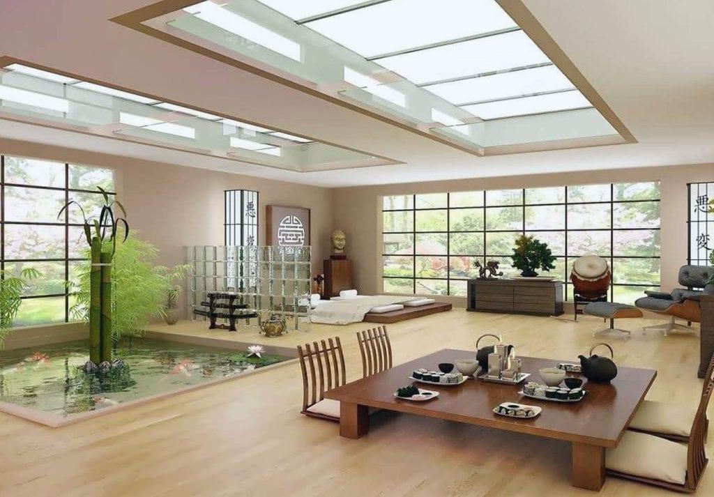 Đề tài thiên nhiên trong kiến trúc Nhật
