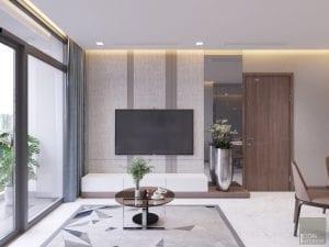 thiết kế nội thất 2 phòng ngủ