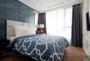 thiết kế phòng ngủ nhỏ phong cách indochina