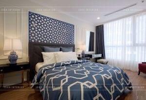 thiết kế phòng ngủ phong cách indochina