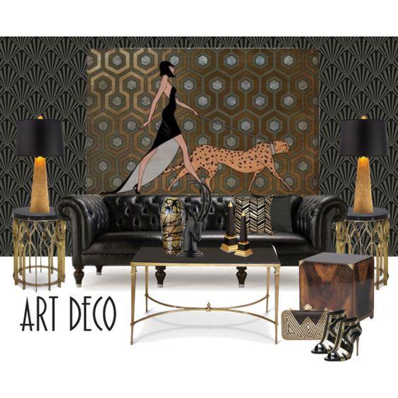 phong cách art deco trong thiết kế nội thất - ảnh 1