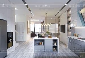 các kiểu nhà bếp đẹp phong cách hiện đại