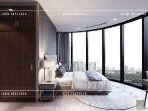 thiết kế nội thất vinhomes ba son - phòng ngủ bé trai
