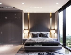 nội thất vinhomes ba son - phòng ngủ master