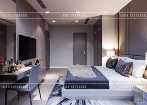 nội thất căn hộ vinhomes ba son - phòng ngủ master
