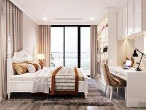 thiết kế vinhomes golden river sài gòn - phòng ngủ master