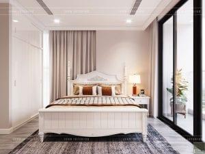 thiết kế vinhomes golden river sài gòn - phòng ngủ