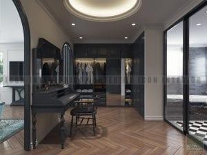 phong cách thiết kế Indochine biệt thự