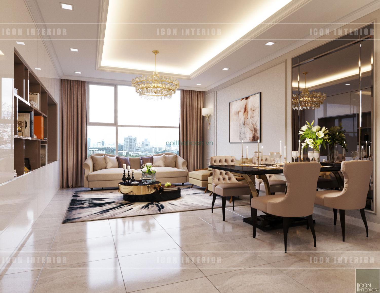 thiết kế nhà chung cư 70m2
