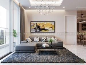 thiết kế nội thất trong nhà phòng khách