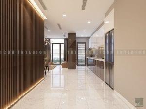 mẫu thiết kế nội thất tiền sảnh chung cư đẹp