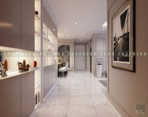 căn hộ vinhomes central park - thiết kế tiền sảnh
