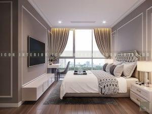 căn hộ vinhomes central park - thiết kế phòng ngủ