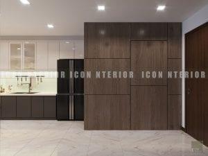thiết kế nội thất chung cư hiện đại - tiền sảnh