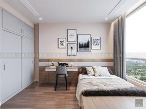 thiết kế nội thất trong nhà phòng ngủ nhỏ