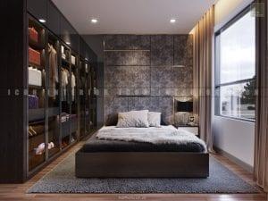 dự án the gold view quận 4 - thiết kế phòng ngủ