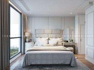 mẫu thiết kế nội thất phóng master chung cư đẹp