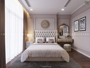 nội thất phòng ngủ nhỏ chung cư đẹp