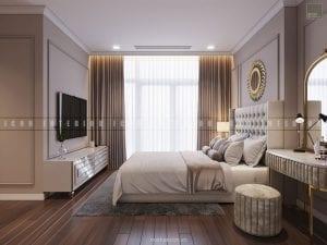 nội thất phòng ngủ chung cư đẹp 3