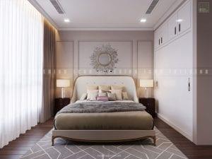 nội thất phòng ngủ chung cư đẹp 2