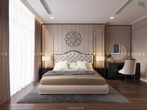 nội thất phòng master chung cư đẹp 1