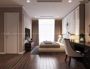 nội thất phòng master chung cư đẹp