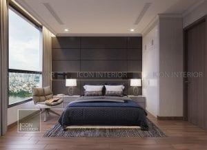 mẫu thiết kế nội thất phòng ngủ nhỏ chung cư đẹp