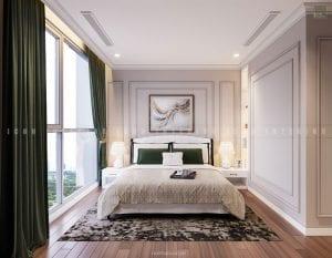 thiết kế phòng master chung cư đẹp