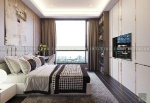 thiết kế nội thất chung cư cao cấp - phòng ngủ
