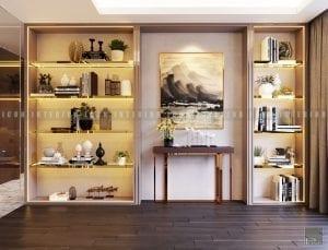 thiết kế nội thất chung cư cao cấp phòng thư giãn 2