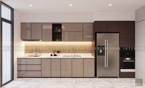 thiết kế nội thất chung cư cao cấp - nhà bếp