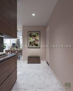 thiết kế nội thất trong nhà tiền sảnh