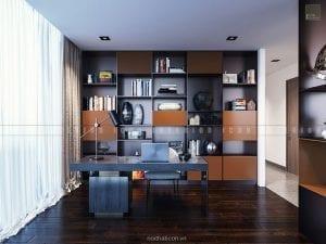 thiết kế nội thất căn hộ vinhomes golden river phòng làm việc