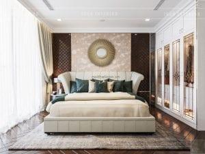 thiết kế phòng master căn hộ vinhomes ba son