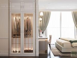 thiết kế tủ quần áo căn hộ vinhomes ba son