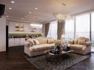 thiết kế căn hộ vinhomes ba son