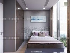 nội thất phòng ngủ master vinhomes golden river