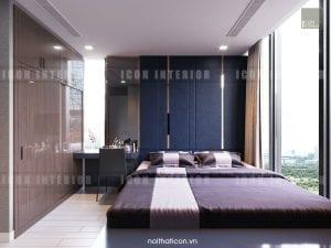 nội thất phòng ngủ vinhomes golden river