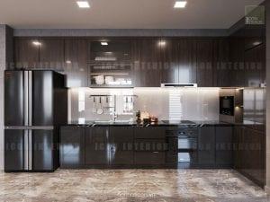 thiết kế nội thất nhà bếp sang trọng