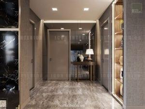 thiết kế nội thất tiền sảnh sang trọng