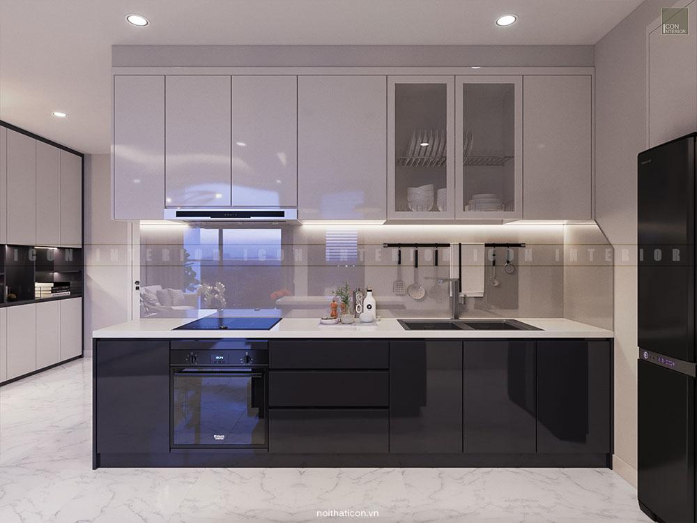 nội thất phòng bếp đơn giản hiện đại