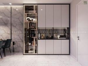Thiết kế nội thất tiền sảnh theo phong cách hiện đại