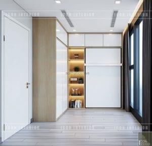 thiết kế căn hộ vinhomes golden river - giuong thông minh