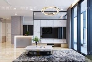 thiết kế căn hộ vinhomes golden river